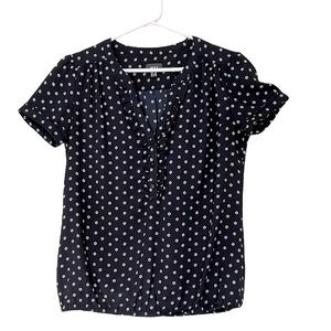2 for $22 🌺 Mexx Blouse with Polka Dots, Size S/M